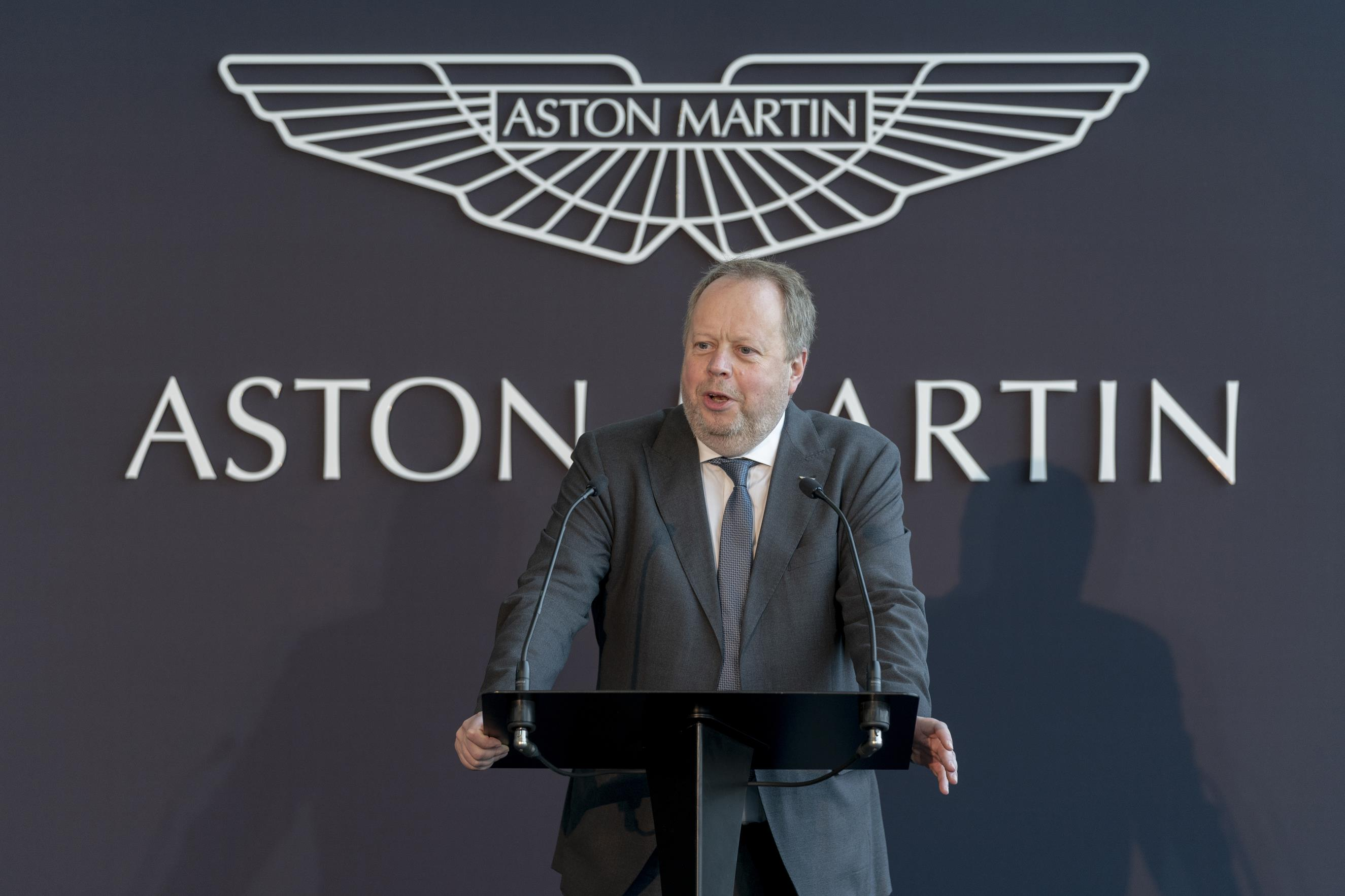 ASTON MARTIN LAGONDA OPENS MANUFACTURING PLANT IN ST ATHAN, WALES
